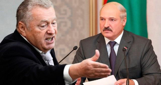 Жириновский призвал Лукашенко запретить все чемпионаты в Белоруссии