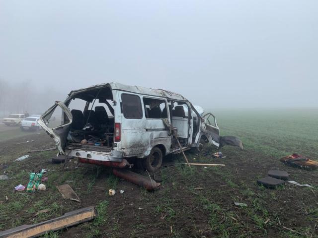 5 пассажиров маршрутки пострадали в ДТП под Пятигорском