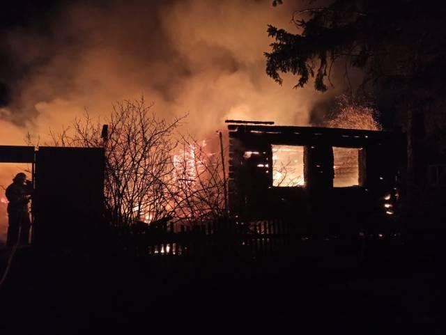 4 взрослых и 3 детей погибли на пожаре в Пензенской области