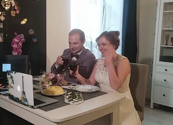 Первую онлайн-свадьбу в условиях карантина сыграли в Екатеринбурге