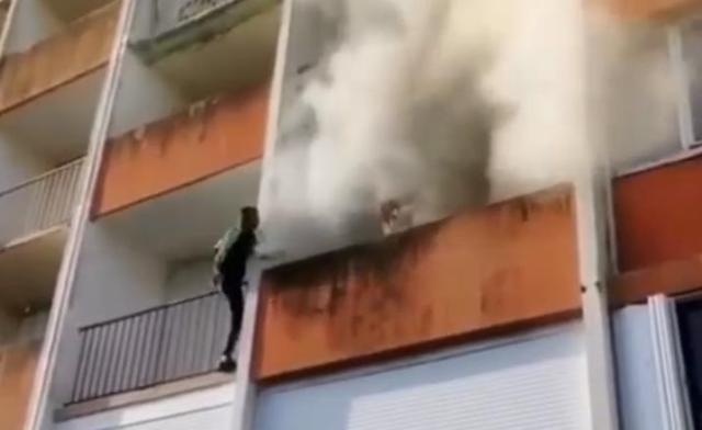 2 парня из Чечни во Франции спасли людей из горящего дома