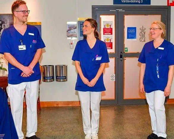 Шведская принцесса София начала работать медсестрой в больнице