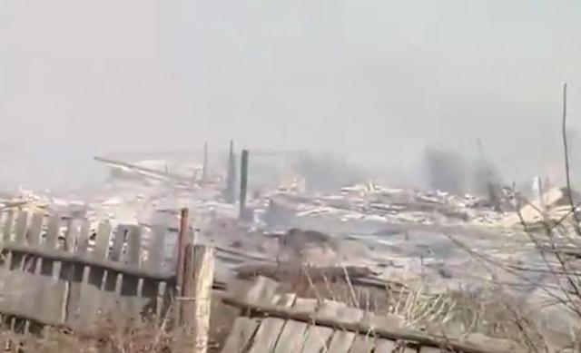 В Кемеровской области в ужасном пожаре сгорело целое село