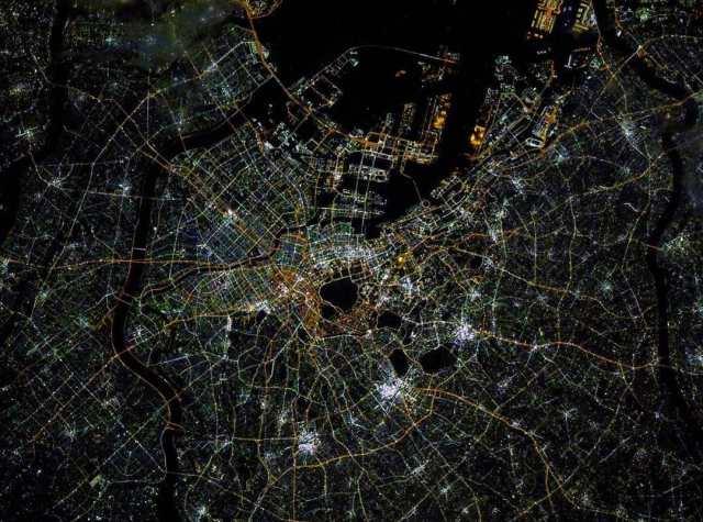 Космонавт из Невинномысска сделал с борта МКС уникальные фото ночного Токио