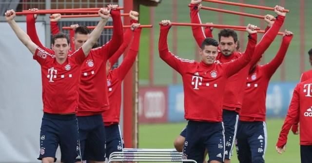 Игроки «Баварии» возобновили тренировки с сегодняшнего дня