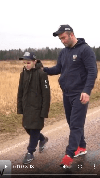 Отца в социальном ролике о воспитании детей сыграл боксер Мурат Гассиев