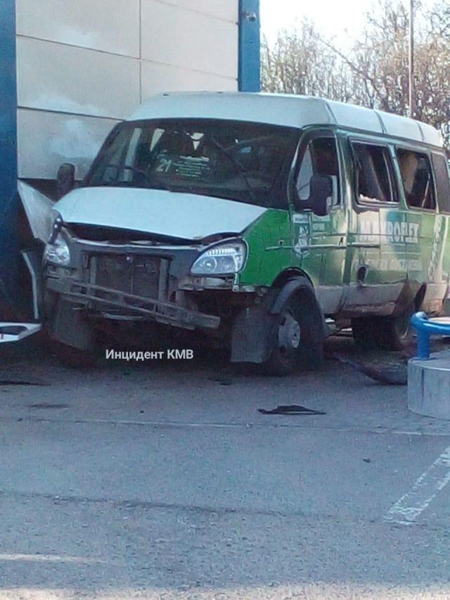 Газовый баллон взорвался в маршрутке под Пятигорском
