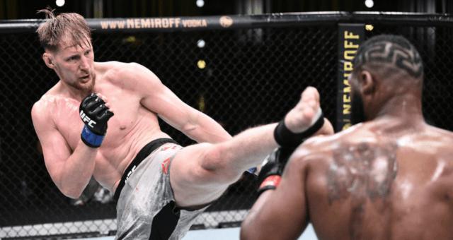 Российский боец UFC проиграл в Лас – Вегасе