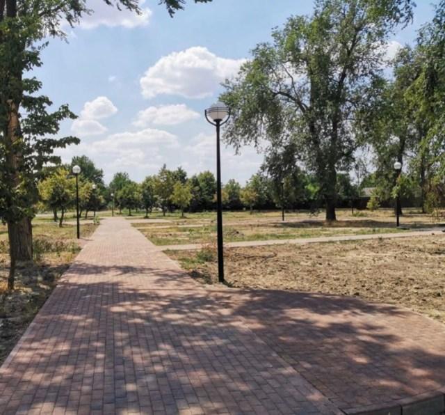 В Курском районе Ставрополья сорвали срок реконструкции парка