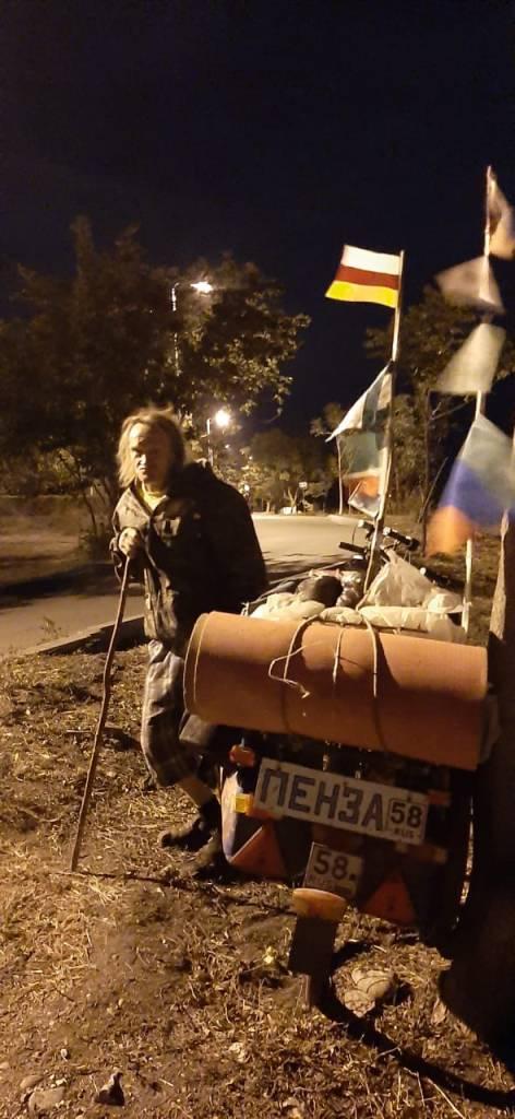 Путешественник из Пензы приехал в Пятигорск на велосипеде