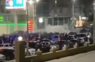 Дагестан ночью вышел на улицы праздновать победу Хабиба Нурмагомедова