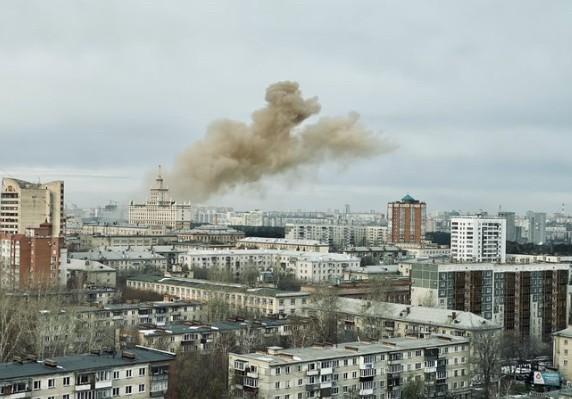 В студенческой поликлинике Челябинска вспыхнул пожар