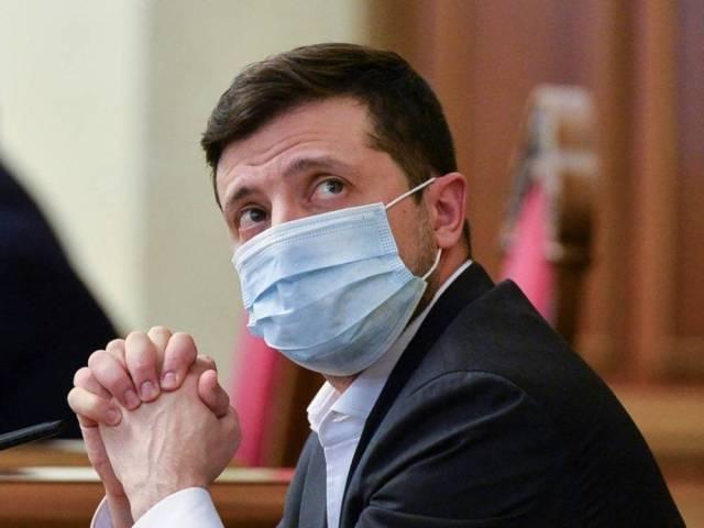 Изолирован зараженный «ковидом» Президент Украины