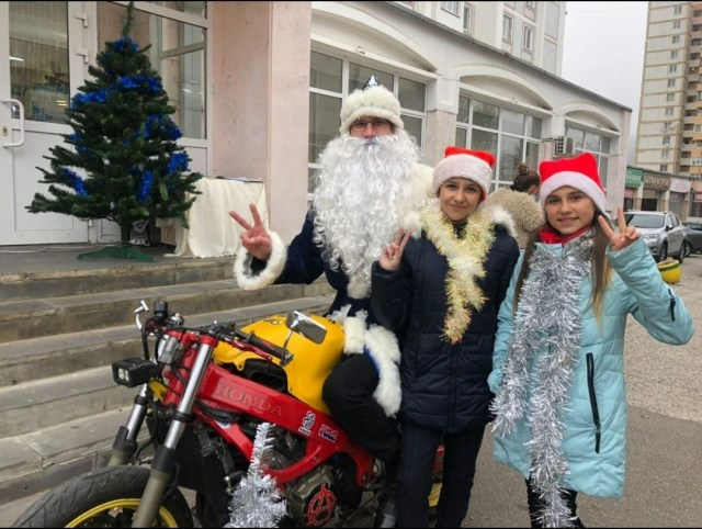Дед Мороз отметил свой день рождения на Кисловодском курорте
