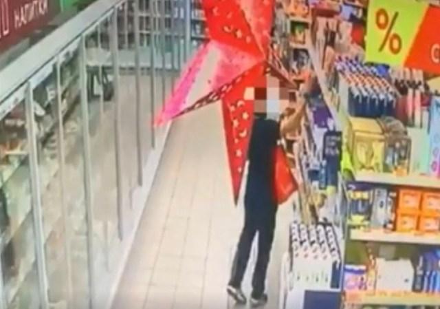 В Пятигорске поймали похитителя шоколадных изделий