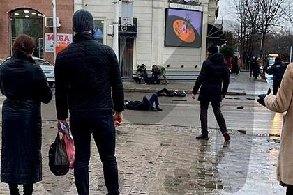 Правоохранителей расстреляли в центре Грозного