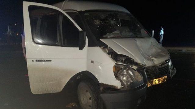 9 человек пострадали в ДТП с маршруткой в Северной Осетии