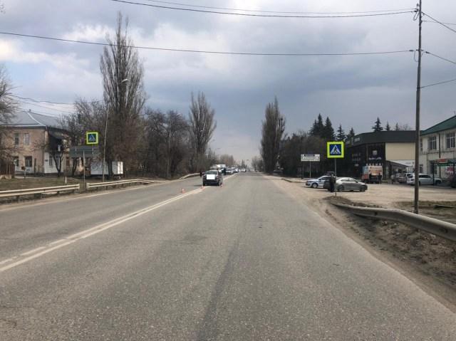 На пешеходном переходе сбили женщину в Пятигорске
