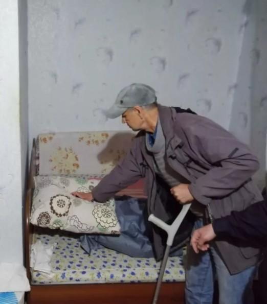 Ставропольчанин пытался зарезать свою престарелую мать