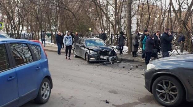 Ставропольский «мерседес» сбил двух женщин в Москве