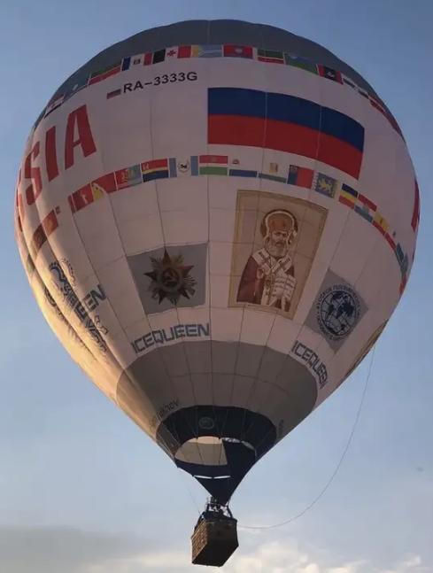 Огромный шар «Россия» пролетит над Ставропольским краем