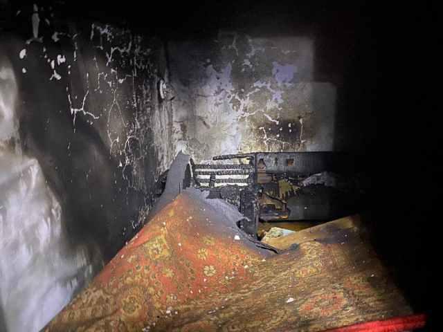 Житель Ставрополья едва не погиб в пожаре