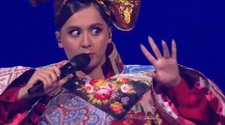 Манижа выступила в первом полуфинале конкурса Евровидение с песней Russian Woman