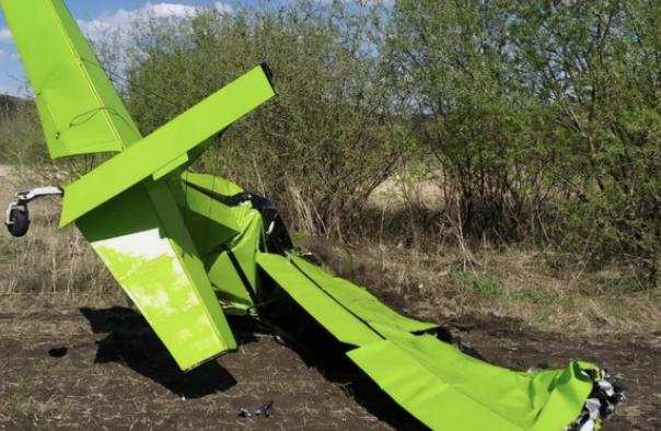 В Татарстане разбился легкомоторный самолёт