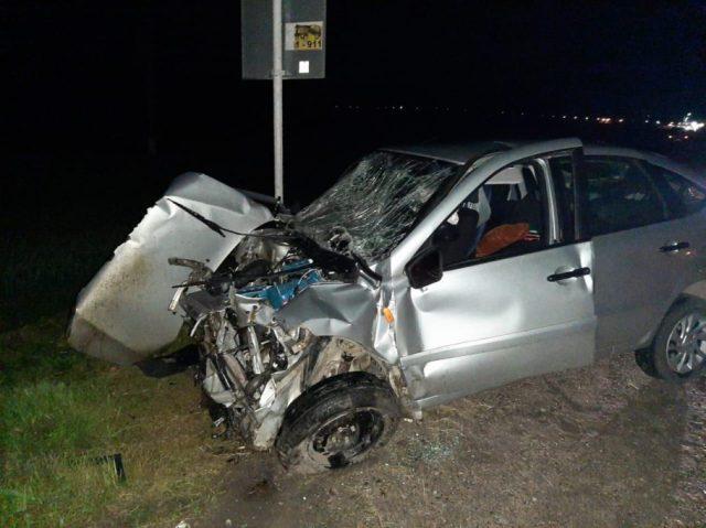 Водитель легковушки погиб в аварии на Ставрополье