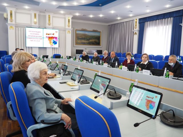 Краевые депутаты оказали поддержку ставропольским писателям в издании патриотического сборника