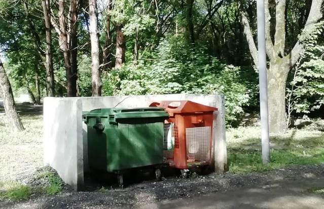 Регоператор поставил спецбаки у Новопятигорского озера