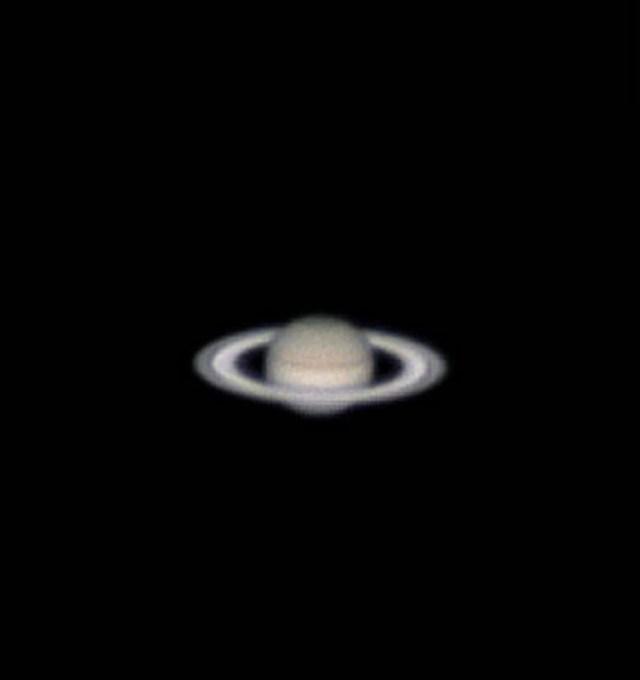 Ставрополец из своего огорода запечатлел Сатурн