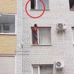 Родители ответят за стоявшего в открытом окне ребёнка в Ставрополе