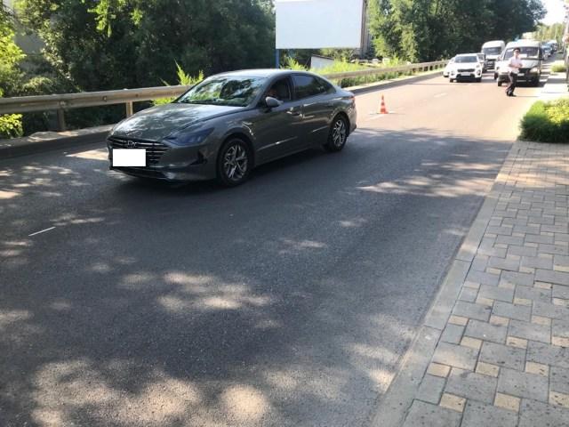 Пожилой пешеход попал под колеса автомобиля в Пятигорске