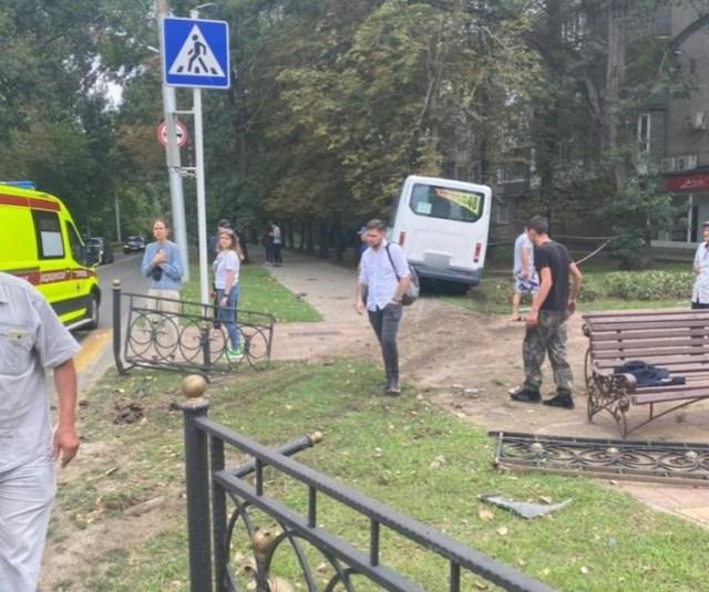 Стали известны подробности аварии с участием маршруткив Ставрополе