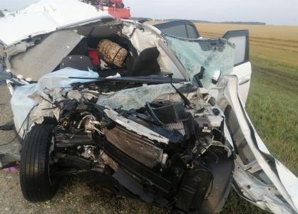 Двое ставропольчан погибли в аварии на Алтае