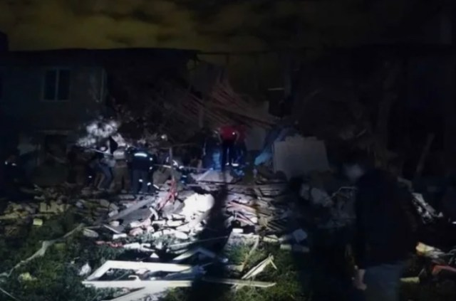 Три человека погибли при взрыве в жилом доме в Липецкой области