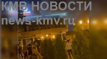 Известный ресторан загорелся в Пятигорске