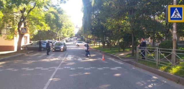 Пенсионер сбил женщину на пешеходном переходе в Кисловодске