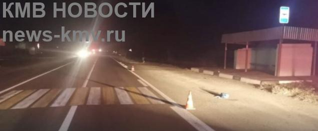 Мужчину сбили на переходе в Левокумском округе