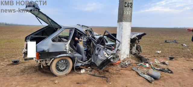 Молодой водитель погиб в аварии на Ставрополье
