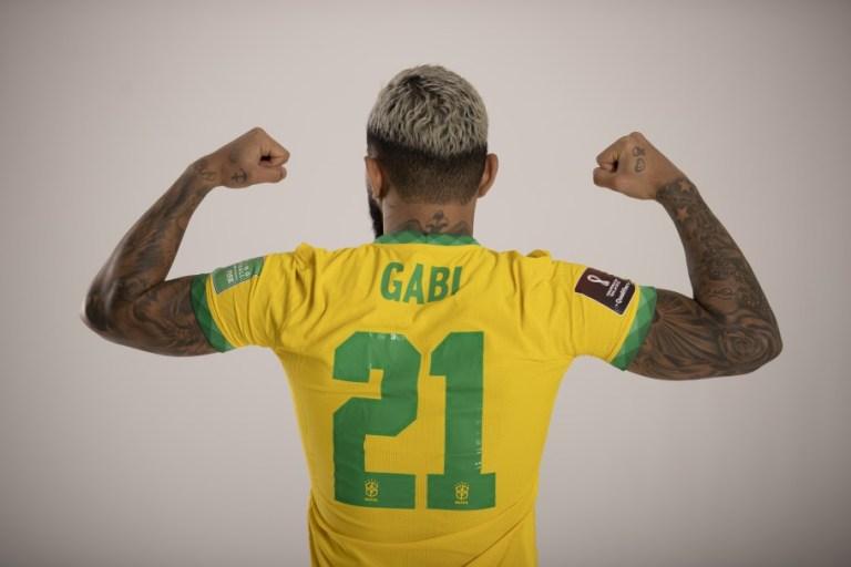 Gabriel Barbosa: na camisa, Gabi e o número 21