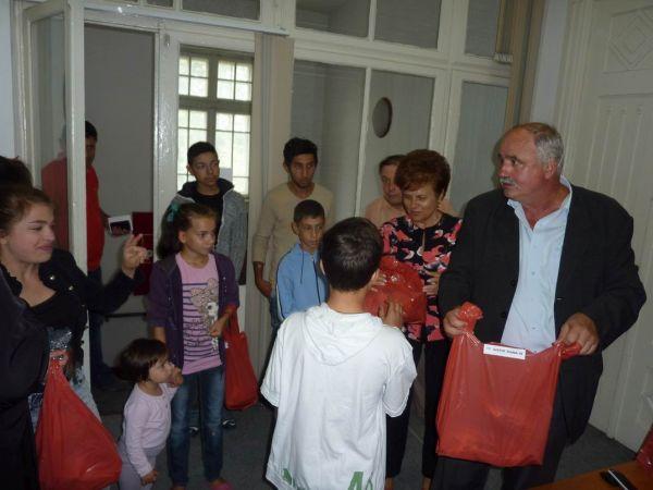 Sprijin de la PSD Roman pentru copiii necăjiți