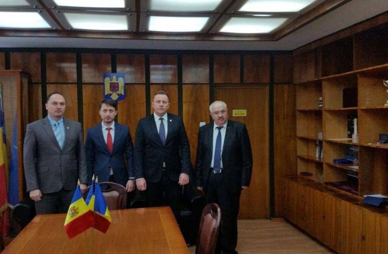 Consulul Republicii Moldova la Iaşi, în vizită în Neamț