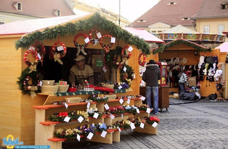 Târg de Crăciun la Roman