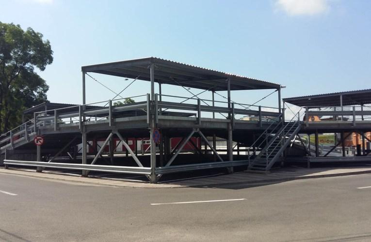Parcarea etajată de la Piața Centrală, gratuită până pe 15 iulie