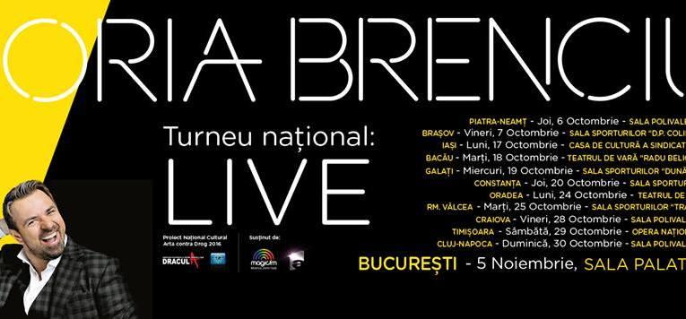 Horia Brenciu, în concert la Piatra Neamț