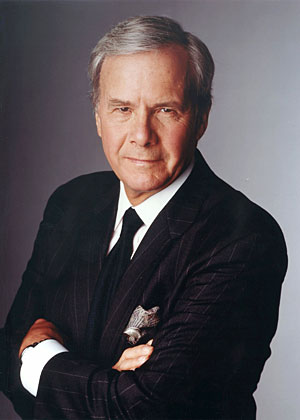 Tom Brokaw.  What is the male equivalent of a cougar?