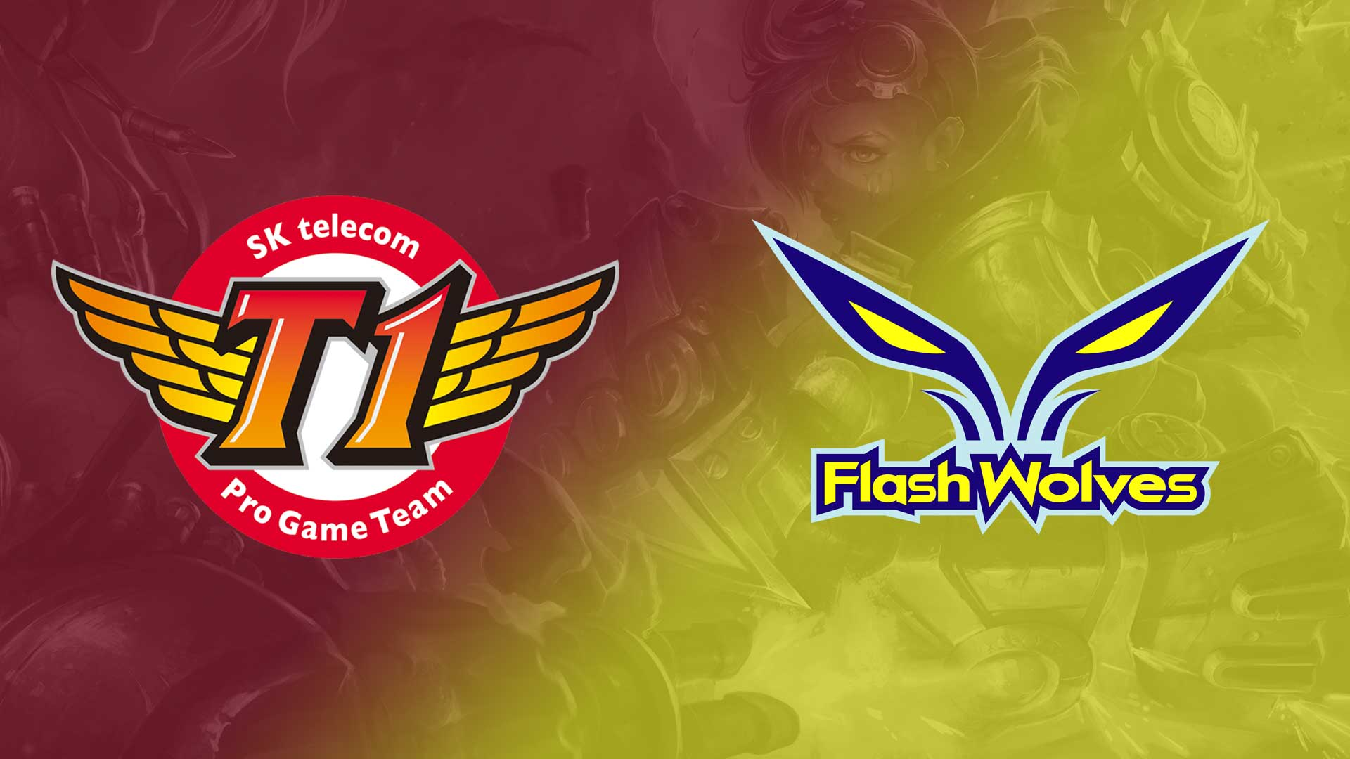 Featured Match SK Telecom T1 Vs Flash Wolves