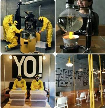 Кафе  «Во все тяжкие» работает в Стамбуле